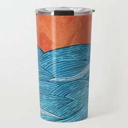 The Blue Sea Travel Mug