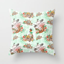 Pirate #1 Throw Pillow