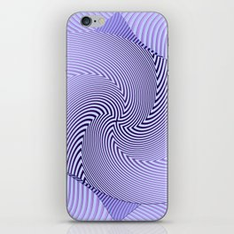 Twirled Stripes iPhone Skin