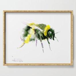 Bumblebee minimalist bee decor Serving Tray