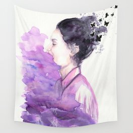 Above the Storm Wall Tapestry
