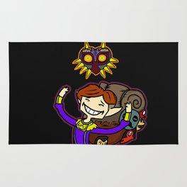 Happy Mask Salesman Rug