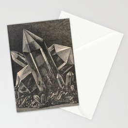 Antiquarian Crystals Stationery Cards