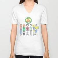 daria V-neck T-shirts featuring Daria and Friends by Monique Cutajar