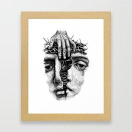 Bifurcation Framed Art Print