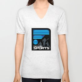 The Flow Sports Radio Unisex V-Neck