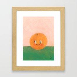 Happy happy Tangerine Framed Art Print