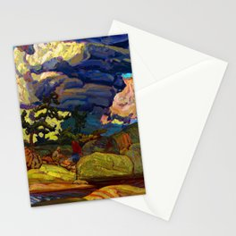 J.E.H. MacDonald The Elements Stationery Cards