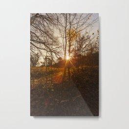 sunset or sunrise, landscape Metal Print