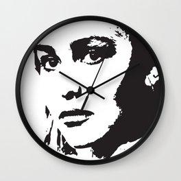 LILY Pop Art Wall Clock