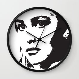 LILY Pop Art Wall Clock