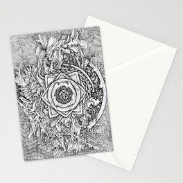 Infected Mandala Stationery Cards