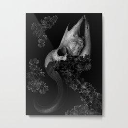 flowers 16 - death rose Metal Print