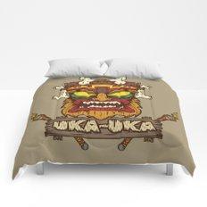 Uka-Uka (Crash Bandicoot) Comforters