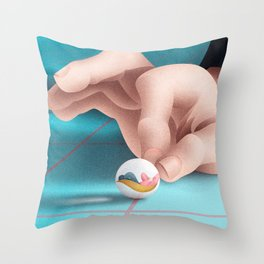 it doesn't depend on you Throw Pillow