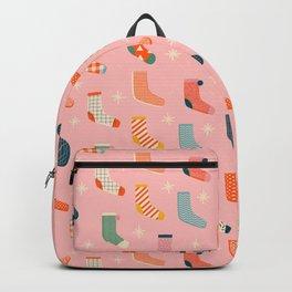 Christmas socks Backpack