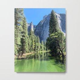 Yosemite Valley Merced River Metal Print