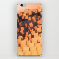 cabin pressure iPhone & iPod Skins featuring Pressure by Christoph Grigoletti