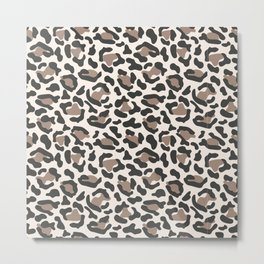Welcome to the Jungle - Leopard Metal Print