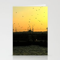 istanbul Stationery Cards featuring Istanbul by habish