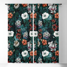 NIGHT FOREST XXI Blackout Curtain