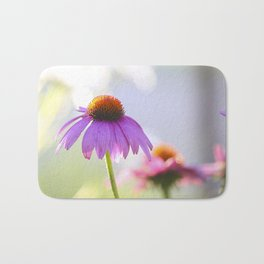 Summer Coneflower Bath Mat