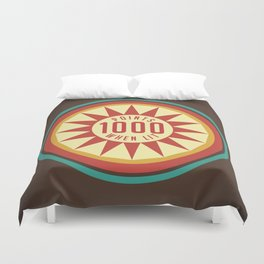 Pinball Points Duvet Cover