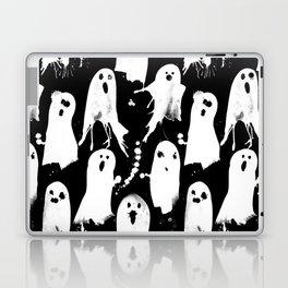 Ghost Splats Laptop & iPad Skin