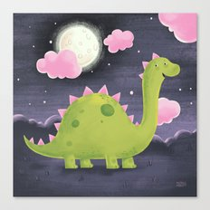 Gus the Dinosaur Canvas Print