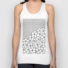 Forget Me Knot Grid Unisex Tank Top