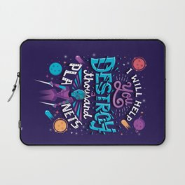 A Thousand Planets Laptop Sleeve