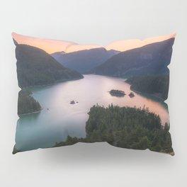 North Cascades NP Sunset Pillow Sham