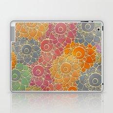 Flower Pattern 2 Laptop & iPad Skin