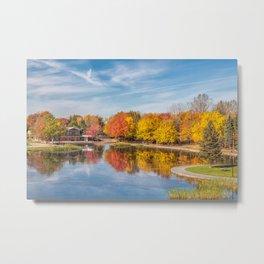 Beaver Lake Metal Print