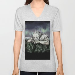 Ymir the Frost Giant Unisex V-Neck
