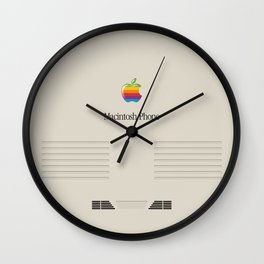 Macintosh phone Wall Clock