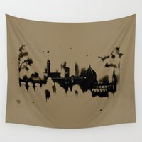 florence Wall Tapestries featuring Florence by Irene Fratto Due