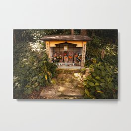 Shinto Shrine - Tokyo, Japan Metal Print
