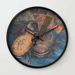 Vincent Van Gogh - A Pair of Boots Wall Clock