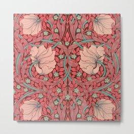 """William Morris """"Pimpernel"""" 3. Metal Print"""
