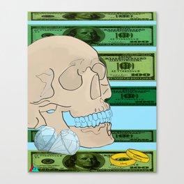 Money Matrimony Canvas Print