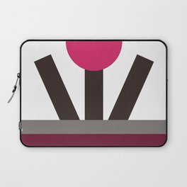 Contempo Happiness Mauve Laptop Sleeve