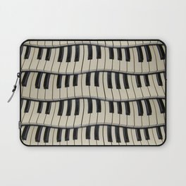 Rock And Roll Piano Keys Laptop Sleeve