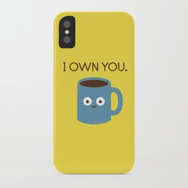 Coffee Talk iPhone Case