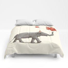 Party Elephant Comforters