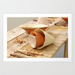 Handmade Aesthetics 1 Art Print