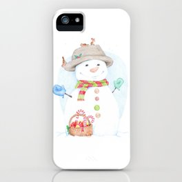Hello, Mr. Snow iPhone Case