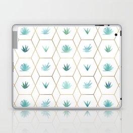 Geometric Succulents Laptop & iPad Skin