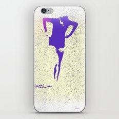Woman Emerging (k) iPhone & iPod Skin