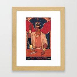 MAGICIAN'S RED (II) Framed Art Print